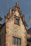 Det Heidelberg slottet är ett berömdt fördärvar i Tyskland och landmark av Heidelberg royaltyfri fotografi
