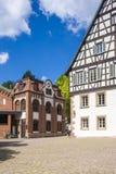 Det historiska bryggerimuseet och Oberamteien i Alpirsbach Arkivfoton