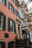 Det historiska hemmet var president kom med Abraham Lincoln, efter han var skottet, Washington, DC, 2017 Fotografering för Bildbyråer
