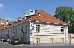 Det historiska huset på den Rusu gatan Royaltyfria Foton