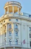 Det historiska lyxiga hotellet Bristol, Warszawa (Polen) Royaltyfri Fotografi