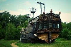 Det historiska skeppet - museet royaltyfri foto