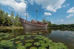 Det historiska skeppet Museum-parkerar Arkivfoton