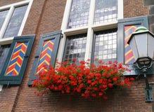 Det historiska stadshuset av Vlaardingen Arkivbild
