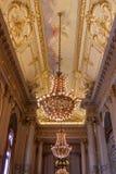 Det historiska Teatro kolonet i Buenos Aires royaltyfria foton
