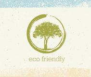 Det holistiska terapiträdet med rotar på organisk pappers- bakgrund Naturligt begrepp för Eco vänligt medicinvektor stock illustrationer