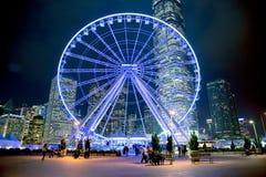 Det HONGKONG ÖGAT Royaltyfria Bilder