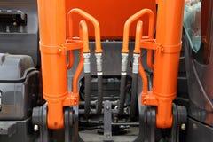 Det hydrauliska systemet Royaltyfri Foto