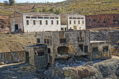 Det industriellt bryter av Spanien Arkivfoto