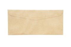 Det isolerade kuvertet Royaltyfria Bilder