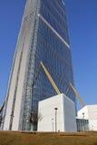 Det Isozaki tornet på Citylife; Milano Arkivbilder