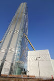 Det Isozaki tornet på Citylife; Milano Royaltyfri Bild
