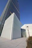 Det Isozaki tornet på Citylife; Milano Royaltyfria Bilder