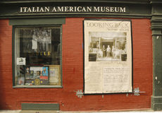 Det italienska amerikanska museet Arkivbilder