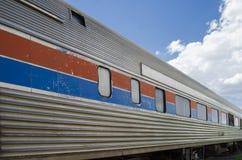 Det järnväg museet för Pueblo Arkivfoto