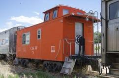 Det järnväg museet för Pueblo Royaltyfri Bild