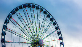 Det jätte- hjulet Royaltyfri Fotografi