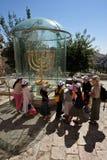 Det judiskt inkvarterar i Jerusalem Israel Royaltyfria Bilder