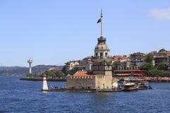 Det jungfru- tornet för ` s, Istanbul Royaltyfri Bild
