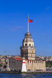 Det jungfru- tornet för ` s, Istanbul Arkivfoto