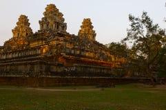 Det kambodjanska tempelet fördärvar Royaltyfri Bild