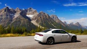 Det Kanada loppet, berg turnerar Arkivbilder