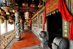 Det Khoo Kongsi tempelet fotografering för bildbyråer