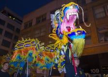 Det kinesiska nya året ståtar Royaltyfri Foto