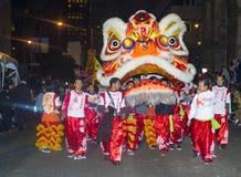 Det kinesiska nya året ståtar Arkivbild