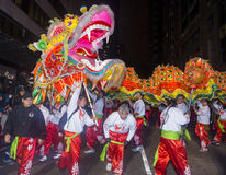 Det kinesiska nya året ståtar Arkivfoto