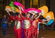 Det kinesiska nya året ståtar Royaltyfri Fotografi