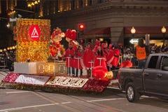 Det kinesiska nya året ståtar i kineskvarter Royaltyfri Bild
