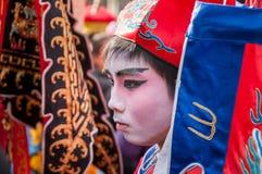 Det kinesiska nya året ståtar Paris Royaltyfria Foton