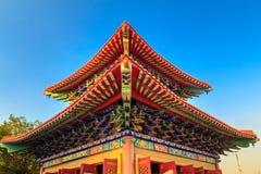 Det kinesiska tempeltaket Royaltyfri Foto