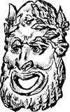Det klassiska dramat maskerar Royaltyfria Bilder