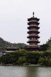 Det klassiska tornet Arkivbild