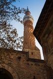 Det Klocka tornet av kyrkan av St Constantine och Helena i Plovdiv, Bulgarien royaltyfria foton