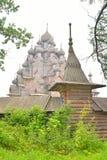 Det komplexa säterit Bogoslovka nära St Petersburg Arkivfoto