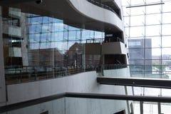 Det Kongelige Bibliotek in Copenhagen, interiors. Det Kongelige Bibliotek in Copenhagen royalty free stock image