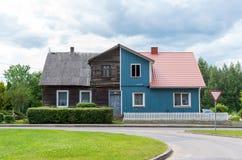 Det konstiga huset Arkivfoton