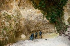 Det Krapina Neanderthalmuseet Royaltyfria Bilder