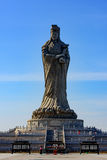 Det kulturella landskapet av Tianjin Mazu parkerar Arkivfoto