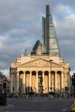 Det kungliga utbytet London England Arkivfoto