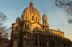 Det kyrkliga helgonet Augustin, Paris, Frankrike Royaltyfri Bild