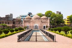 Det Lalbagh fortet är en ofullständig Mughal fästning i Dhaka Fotografering för Bildbyråer