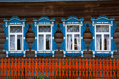 Det lantliga huset Arkivbild