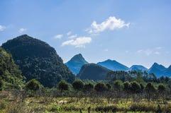 Det lantliga landskap Arkivbild