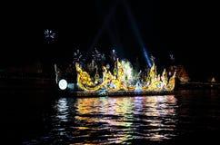 Det ljusa fartyget Fotografering för Bildbyråer