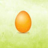 Påskkort med ägget royaltyfri illustrationer