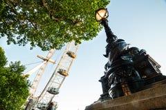 Det London ögat, London Fotografering för Bildbyråer